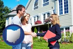 Ohio - a real estate agent