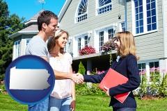 Pennsylvania - a real estate agent
