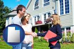 Utah - a real estate agent