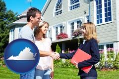Virginia - a real estate agent