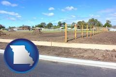 Missouri - real estate subdivisions