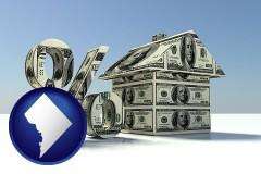 Washington, DC real estate loan rate
