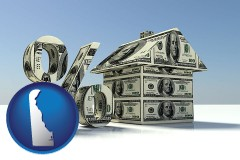 Delaware - a real estate loan rate