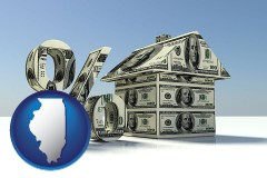 Illinois - a real estate loan rate