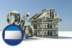 Kansas - a real estate loan rate