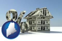 Maine real estate loan rate