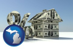 Michigan - a real estate loan rate