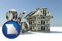 Missouri - a real estate loan rate