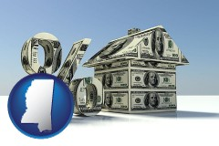 Mississippi - a real estate loan rate
