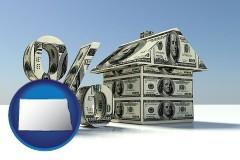 North Dakota - a real estate loan rate