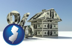 New Jersey real estate loan rate