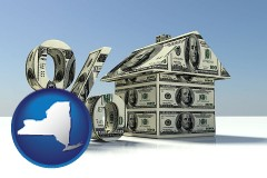 New York - a real estate loan rate