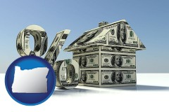 Oregon - a real estate loan rate