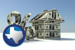 Texas - a real estate loan rate