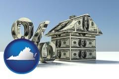Virginia real estate loan rate