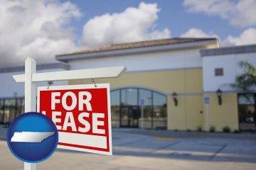commercial real estate for lease with Tennessee map icon