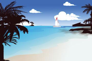 a tropical resort