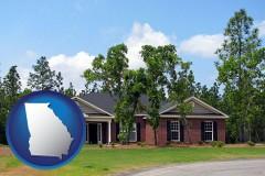 Georgia a single story retirement home