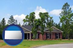 Kansas - a single story retirement home