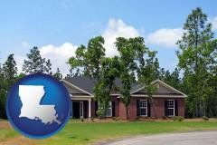 Louisiana - a single story retirement home