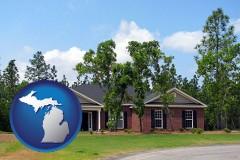 Michigan - a single story retirement home