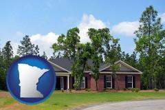 Minnesota - a single story retirement home