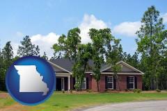 Missouri a single story retirement home