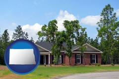 North Dakota a single story retirement home