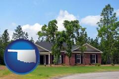 Oklahoma a single story retirement home