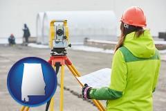 Alabama - surveying services