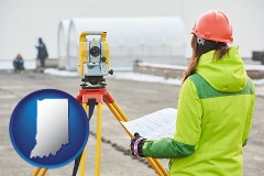 Indiana - surveying services