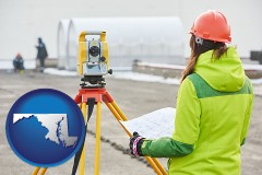 Maryland - surveying services