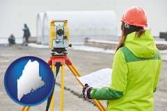 Maine - surveying services