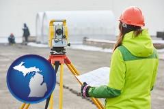 Michigan - surveying services