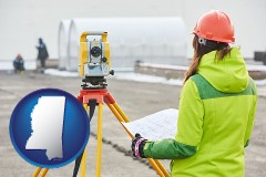 Mississippi - surveying services