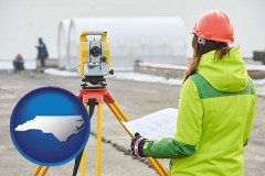 North Carolina - surveying services