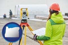 Oregon - surveying services