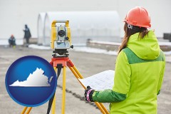 Virginia - surveying services