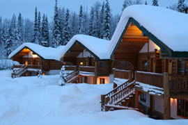 mountain chalets