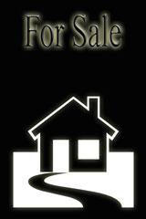 real estate for sale sign - illustration